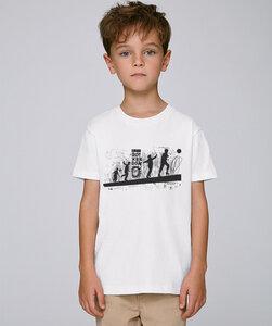 T-Shirt mit Motiv / Spielplatz - Kultgut