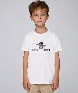 T-Shirt mit Motiv / Super Hero - Kultgut