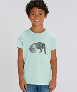 T-Shirt mit Motiv / Tiger - Kultgut