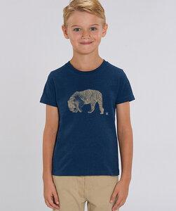 T-Shirt mit Motiv / golden Tiger - Kultgut