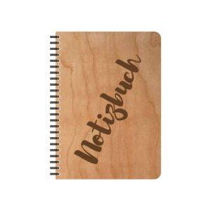 Kirschholz Notizblock DIN A 5 - echtholz