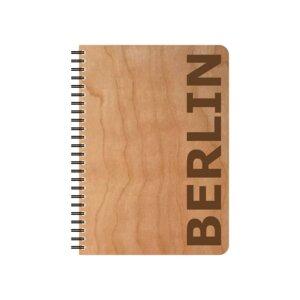 Kirschholz Schreibblock Berlin - echtholz