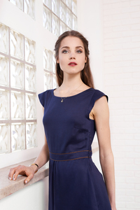 Kleid Rose in Leinen/Lyocell Mix - ME&MAY