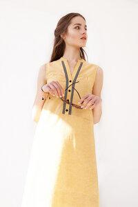 Kleid Poppy  aus Leinenmix - ME&MAY