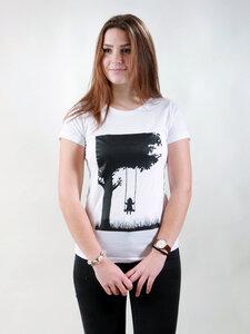 T-Shirt Damen - Child - white - NATIVE SOULS