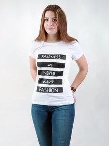 T-Shirt Damen - Fairness - NATIVE SOULS