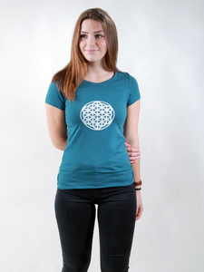 T-Shirt Damen - Flower of Life - NATIVE SOULS