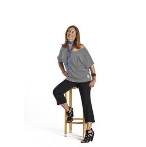 Kurzärmliges Maxi-T-Shirt - Biologischer Pima Baumwolle - B.e Quality