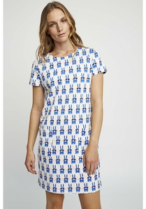 Peter Jensen Rabbit Shirtkleid - People Tree