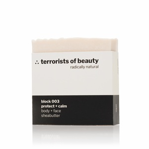 block 003 ∴ protect + calm - terrorists of beauty