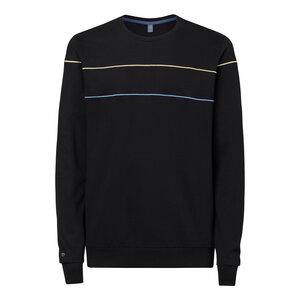 Herren Sweatshirt Lines Schwarz Bio Fair - THOKKTHOKK