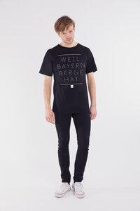 Shirt Weil Bayern Berge hat schwarz - Degree Clothing