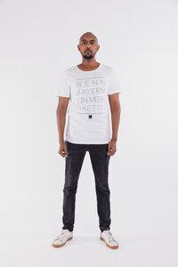 Shirt Wenn Bayern ein Meer hätte weiß - Degree Clothing
