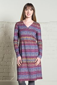 Nomads Cross Over Dress - indigo - Nomads Fair Trade Fashion