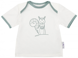 Baby Kurzarmshirt - mitwachsend - CHARLE - sustainable kids fashion