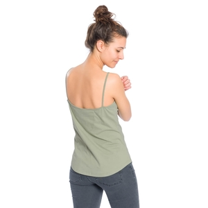 String Top Damen Oliv - bleed