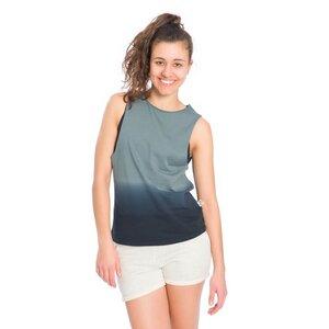 Dip-Dye Muscle Shirt Damen - bleed