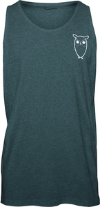 Tanktop - Tank Top with owl chest logo - KnowledgeCotton Apparel