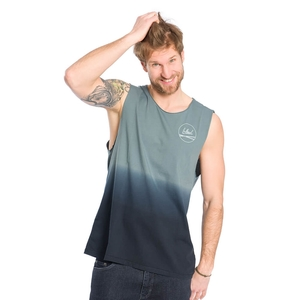 Dip-Dye Muscle Shirt Blau - bleed