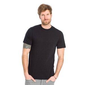 T-Shirt Schwarz Flamé - bleed