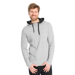 Lightweight Hoody Modal (TENCEL) Grau - bleed