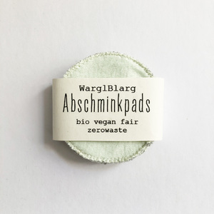 Abschminkpads Blautöne - WarglBlarg!