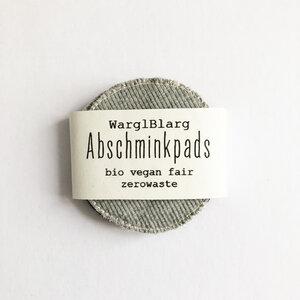 Abschminkpads Grautöne - WarglBlarg!