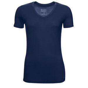 Kaipara Merino Shirt Kurzarm Slimfit V-Neck 150 Mulesing-frei - Kaipara - Merino Sportswear