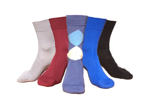 5er Mix Herren Socken GOTS - 108 Degrees