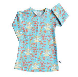 Kinder Nachthemd Bio Baumwolle Mohnfee - betus