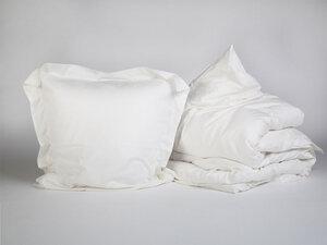 Bettwäscheset Baumwollsatin (mit Rand) - Yumeko