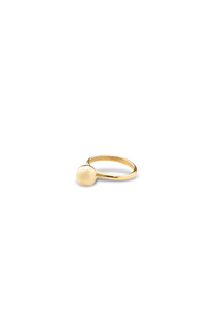 "Ring ""Ball"" - aus Altmessing - Kipato Unbranded"