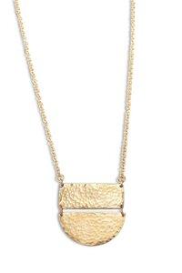 Halskette Half Moon aus Altmessing - Kipato Unbranded