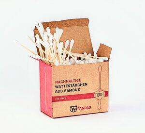 Nachhaltige Bambus Wattestäbchen (200/800 Stück) - 99PANDAS