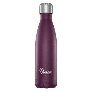 Edelstahl Trinkflasche 500ml, verschiedene Farben - Made Sustained