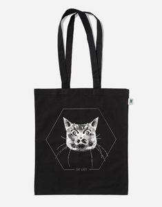 Jutebeutel Cat Lady - Zerum
