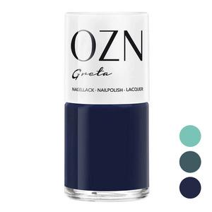 Blau / Grüntöne, 7-free Nagellack - OZN
