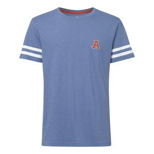 Herren T-Shirt Cheering Graublau Bio Fair - ThokkThokk