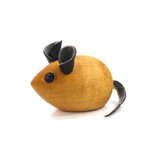 Mäusespiel für Katzen mini | Holzmaus - Mitienda Shop