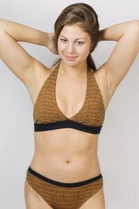 "Bio Bikini ""Fjorde Print"" Baumwolle - Frija Omina"