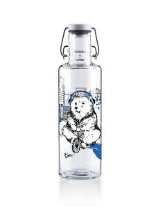 """soulbottle 0,6l • Trinkflasche aus Glas • """"Bärlinliebe""""  - soulbottles"""