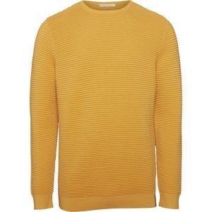 Wave O-Neck Knit GOTS Pullover - KnowledgeCotton Apparel
