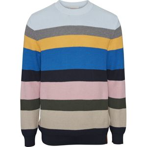 Multi Colored Striped Knit GOTS - KnowledgeCotton Apparel