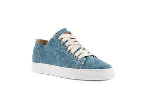 Low Scout Sneaker Indigo Hanf Man - Risorse Future