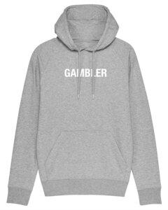"""Herren Hoodie aus Bio-Baumwolle """"Gambler"""" - University of Soul"""