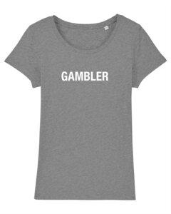 """Damen T-Shirt aus Bio-Baumwolle """"Gambler"""" - University of Soul"""