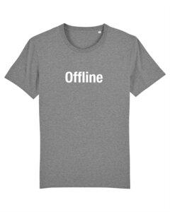 "Herren T-shirt aus Bio-Baumwolle ""Offline"" - University of Soul"