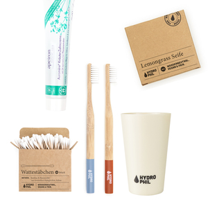 Badezimmer Set - alles für dein nachhaltiges Badezimmer - HYDROPHIL