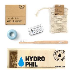 Große Geschenk Box für das nachhaltige Badezimmer - HYDROPHIL