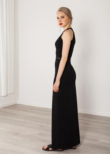 d9da81960bc16 Langes Kleid schwarz Abendkleid Viskose elegant. SinWeaver alternative  fashion